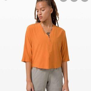 Lab Sarala Shirt True Tangerine